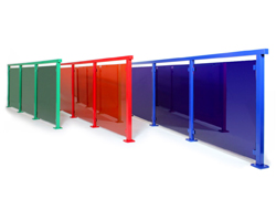 Alu Color – Glasgeländer in jeder Farbe!