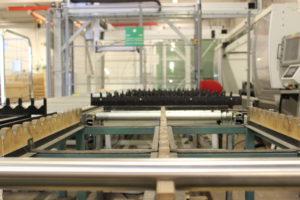 Pfosten, Produktion, Zuschneiden, Roboter, Bohrung
