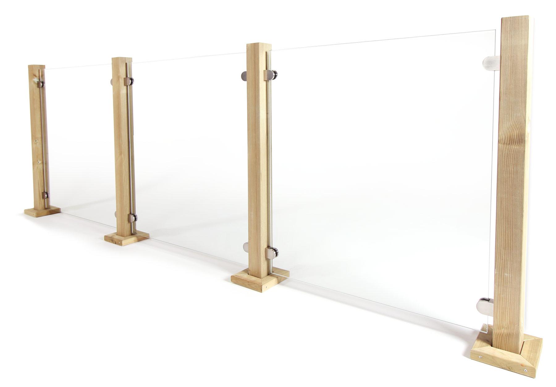 Glasscheiben Und Klemmhalter In Vielen Varianten Geländerladenat